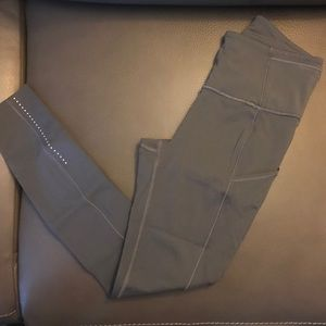 lululemon athletica Pants - Lululemon Fast & Free 7/8 Dark Carbon